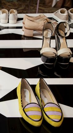 Pollini Spring/Summer 2104 flats and heels