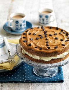 Classic coffee cake - perfect to make for Father's Day this weekend