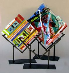 Fused Glass Projects | Shaped Display Stands - Sundance Art Glass Center