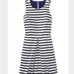 NWT Gap blue and white stripe dress NWT Gap blue and white stripe dress. Versatile dress with pockets! GAP Dresses Midi
