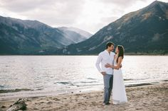 Twin Lakes, CO engagement session.