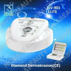 NV-901 ELITE ORIGINAL NOVA NEWFACE DIAMOND MICRODERMABRASION PEELING MACHINE by NOVA. $229.99. NV-901 ELITE SERIES DIAMOND DERMABRASION MACHINE FUNCTIONS AND FUTURES. Diamond Dermabrasion Diamond Dermabrasion Beauty Equipment provides a non-surgical skin refinish procedure, by using sterile diamond heads to abrade or rub off the top skin layer, then vacuuming out the particles along with any dirt and dead skin back up. This procedure removes skin debris, imperfections, blemishe...