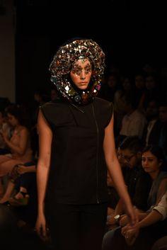 DRVV by Dhruv Kapur for Lakme Fashion week 2015.  #black  #designer #dhruvkapur #dark #style #fashion #trendy #brilliant #fashionweek #Bombay #2015