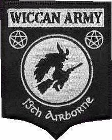 As a proud Army pagan wife!