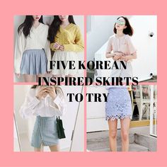 Five Korean Inspired Skirts to Try