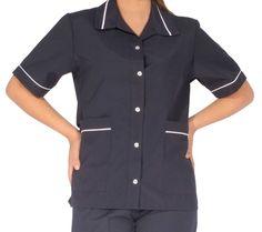 Dental Uniforms, Housekeeping Uniform, Casual Dresses, Button Down Shirt, Men Casual, Shirt Dress, Mens Tops, Shirts, Fashion
