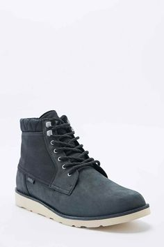 Breton Leather Boots in Black