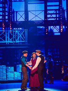 Newsies! I saw this exact production last fall in NYC the best peeps ever!
