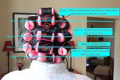 hair rollers how to use & hair rollers . hair rollers before and after . hair rollers how to use . hair rollers before and after curls Hair Rollers Tutorial, Foam Rollers Hair, Sponge Rollers, Curl Hair With Rollers, Curlers For Short Hair, Curling Short Hair, Best Hair Rollers, Foam Curlers, Velcro Rollers