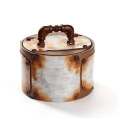Keramik Dose Unikat zeitgenössisches Design Handarbeit Teedose Schmuckdose  box In China, Jar, Design, Home Decor, Rusty Metal, Objects, Handarbeit, Earth, Jars