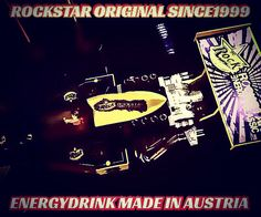 ROCKSTAR ORGINAL SINCE1999 ENERGYDRINK MADE IN AUSTRIA