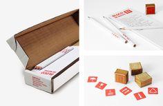 Brinde de Auto-Promoção - ps.2 Annual Gift: Stamps - ps.2 - ps.2 arquitetura + design