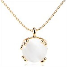Fashion Opal Pendant Necklace Neck Chain Clavicle Chain Pendants Jewelry for Ladies Girls