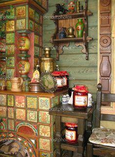 Russian interior — Stock Photo © olgysha #1091328