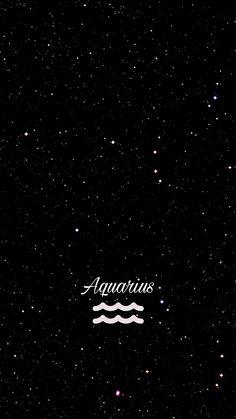 Wallpaper céu estrelado Signo Aquário