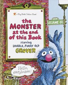 Grover has a surprise for you! This was my favorite book as a kid!!