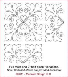 Computerized Quilting Pattern Collection - Victorian Simplicity
