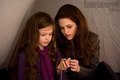 Bella and Renesmee in Breaking Dawn Part 2 :)