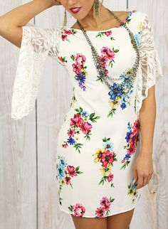 Signs of Spring Dress