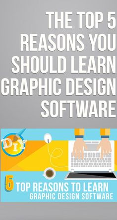 Blog: The Top 5 Reasons You Should Learn Graphic Design Software | Making branding design easy for everyone #creatorpreneurs #graphicsdesignsoftware #brandingdesign #graphicdesigner #brandidentity