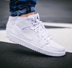 b3a1dee45517e0 Air Jordan 1 Mid  White