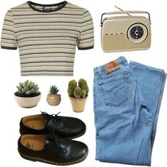 I don't know why we have to break so hard... by caro-medi-romero on Polyvore featuring Topshop, Levi's, Dr. Martens and Nearly Natural