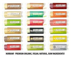 HURRAW! PREMIUM ORGANIC NATURAL VEGAN LIP BALM - SMOOTH STICK -  For kissable lips and perfect pouts, I always prime lips with one of Hurraw's beautiful and healthy formulas. #crueltyfreemakeup #beautybyedendibianco