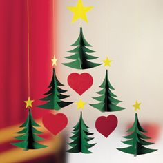12 Beautiful Christmas Mobiles by Flensted Mobiles