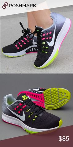8bda2c95efd Nike Zoom Structure 19 This Women s shoe is designed to help with  Overpronation Stability. Discount Nike ShoesNike ZoomRunning ShoesToo Thin Black ...