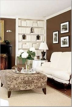 51 Best Brown And White Rooms Images