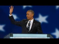 Watch President Barack Obama's full speech at the 2016 Democratic National Convention - YouTube