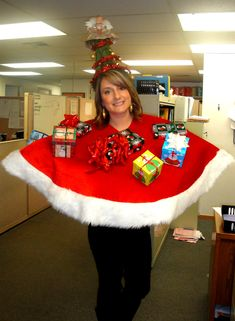 Holiday Sweater Party or Holiday become a tree party