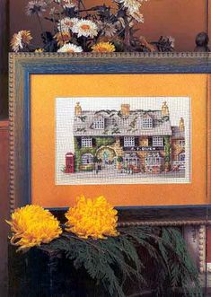 Schema punto croce Casa Inglesa 01