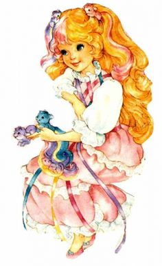 Lady Lovely Locks.  My favorite cartoon when I was little. My mom would take us to blockbuster and let us pick two movies to rent. My picks rotated between lady lovely locks, teenage mutant ninja turtles and he-man cartoons. I would love to find a digital version of this someday. :-)