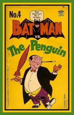 Batman vs Penguin, Signet Books, 1966