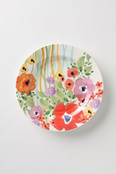 """Verdant Acres Salad Plates"" from #Anthropologie (As seen hanging in Penny's kitchen on TBBT!) <3"