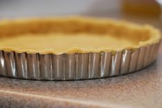 How to make savory tart crust from scratch  .........	This tart dough recipe produces an incredibly flaky crust, which you can use with endless savory fillings (as opposed to sweet) to fill your 9.5 inch tart pan.