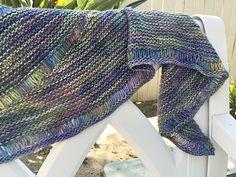 Agleam by Lisa Mutch, knitted by fishgirl182 | malabrigo Silky Merino in Indiecita