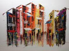 "Saatchi Art Artist Eka Peradze; Painting, ""ROAD # 155 . 60X80CM"" #art"
