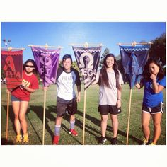 APOlympics Family Flags! From Alpha Delta Chapter - SDSU