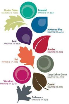 """""""Fall"""" in love with the newest hues for your home, fashion and IT applications!"""