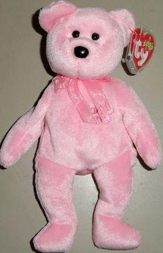 b849d8a99dd pink beanie baby bear Beanie Baby Bears