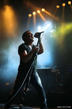 Trent Reznor--brilliantly talented and sexy as hell.