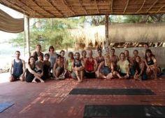 Yoga on the Beach in Goa India