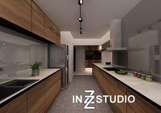 Kitchen of 4 room HDB flat at Fernvale Link