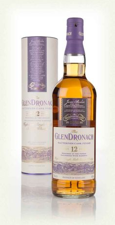 The GlenDronach 12 Year Old Sauternes Cask Finish GlenDronagh Scotch 12YO Sauternes Cask Finish single malt is initially matured in European oak before being moved over to casks which previous held the sweet wine. The result is elegant and fruit-filled, with a good whack of vanilla at its core and pleasing oak spice on the mid-palate.  Nose: White grape, Nectarine, Freesia Coing Jelly, Vanilla, Muscade