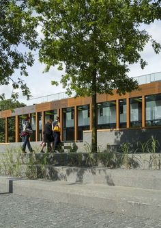 Brookes University 'The Colonnade' - Design Engine Architects, image: Tim Crocker
