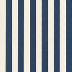 Korsi (13047) - Marimekko Wallpapers - A bold 2 inch stripe, shown here in blue and white. Coordinates perfectly with the Bo Boo design. Clean and crisp. Please order sample for true colour match. Wide width, paste the wall wallcovering.