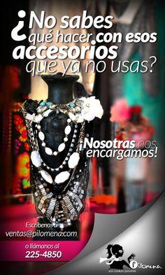 Repleta de bolsos, zapatos y accesorios que ya no usas? Que esperas para sacarles provecho!!! nosotras los vendemos por TI!