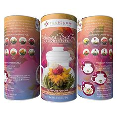 One canister of Teabloom's Blooming Fruit Teas enables you to have the #ultimate tea experience over 250 times. Teabloom's #flowering teas provide more than a del...